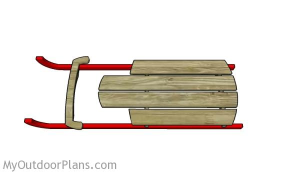 Building a wooden sled