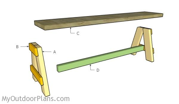 Outdoor Bench Seat Plans Myoutdoorplans Free Woodworking Plans And Projects Diy Shed Wooden Playhouse Pergola Bbq