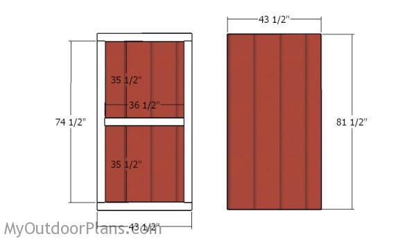Building the door