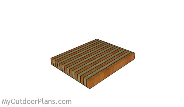 butcher block plans myoutdoorplans free woodworking