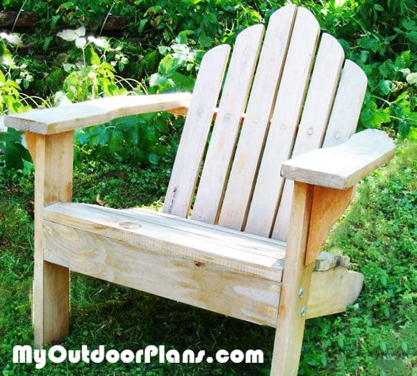 DIY Child Adirondack Chair