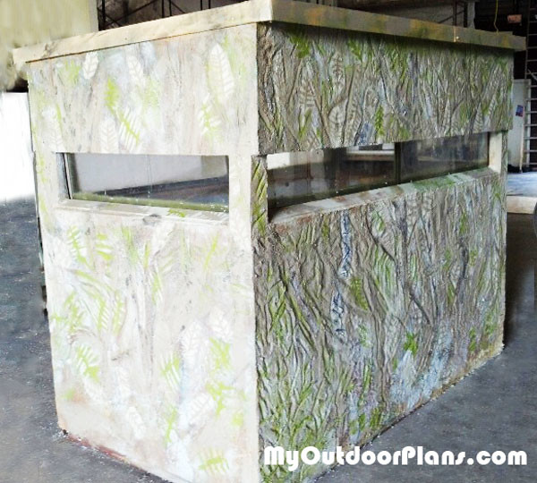 Diy 4x8 deer stand myoutdoorplans free woodworking for Diy deer stand plans