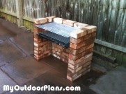 DIY Outdoor Brick Bbq