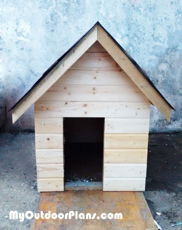 DIY Insulated Dog House