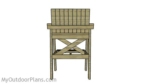 DIY Lifeguard Chair