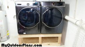 DIY Washer Drier Pedestal