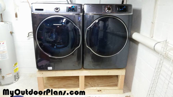 DIY Washer Drier Pedestal