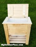 DIY Wood Cooler