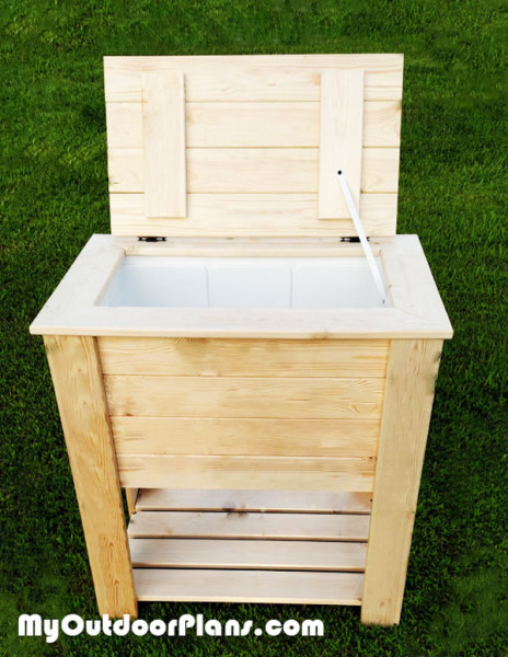 Diy Wood Cooler Myoutdoorplans Free Woodworking Plans