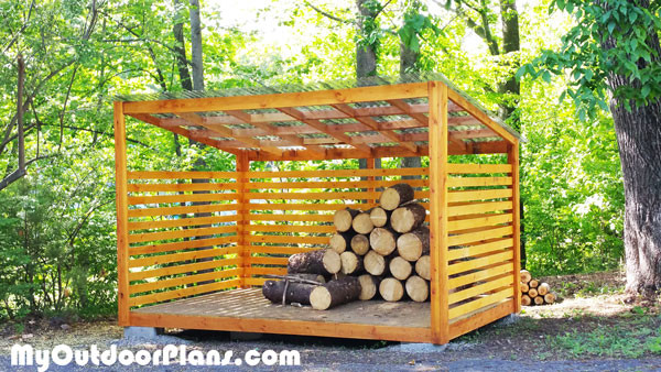 DIY Wood Shed