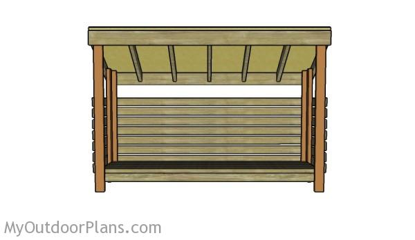 Free Wood Shed Plans Myoutdoorplans Free Woodworking Plans And