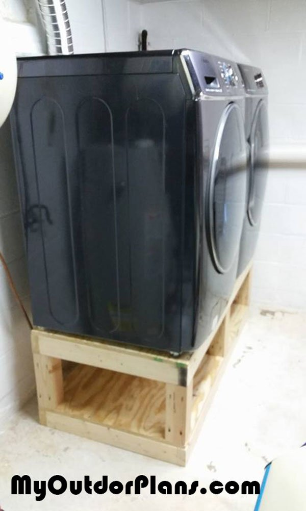 DIY Washer Drier Pedestal | MyOutdoorPlans | Free ...