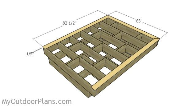 Floating Bed Frame Plans Myoutdoorplans Free Woodworking Plans And Projects Diy Shed