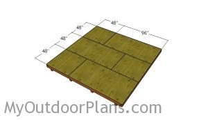 Fitting the floor panels