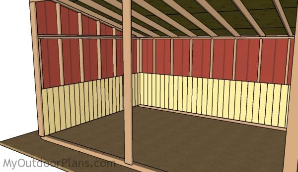 Do It Yourself Home Design: 12x24 Loafing Shed Roof Plans