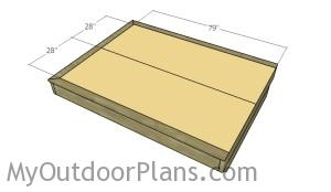 Fitting the plywood sheets