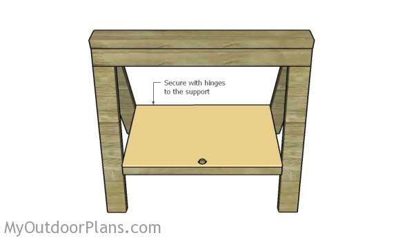 Fitting the shelf