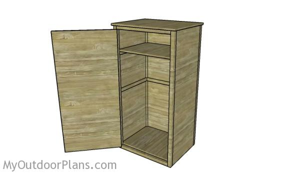 Free Gun Cabinet Plans MyOutdoorPlans Free Woodworking Plans and