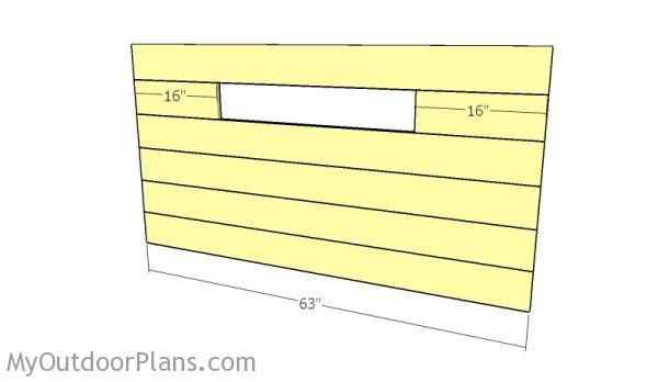 Headboard slats