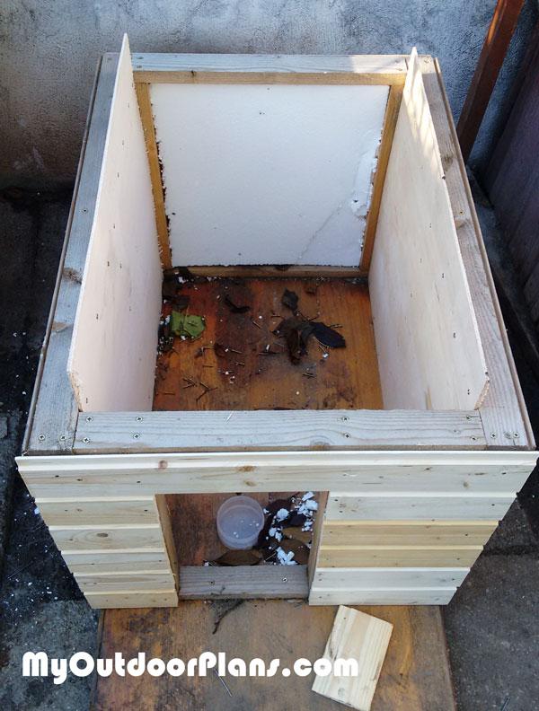 DIY Insulated Dog House | MyOutdoorPlans | Free ...
