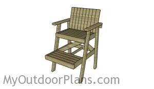Lifeguard Chair Plans