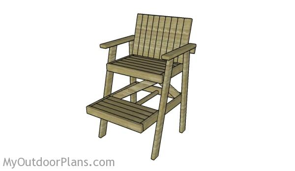 Lifeguard Chair Plans