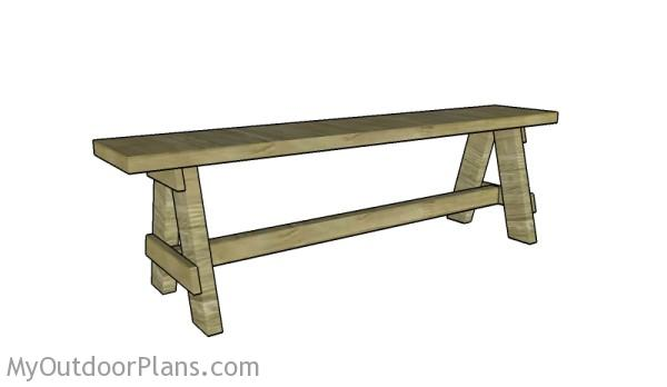 Outdoor Bench Seat Plans