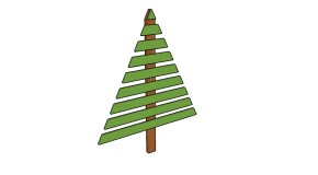 Wood Christmas Tree Plans