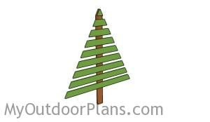 Wood christmas tree plans