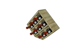Wood Wine Rack Plans