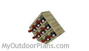 Wood wine rack plans