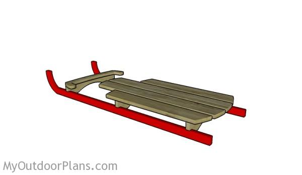 Wooden sled plans