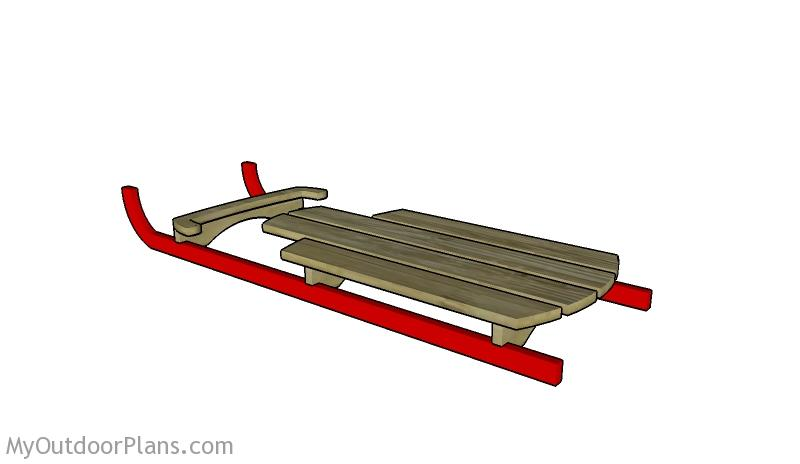 Wooden Sled Plans Myoutdoorplans Free Woodworking Plans And