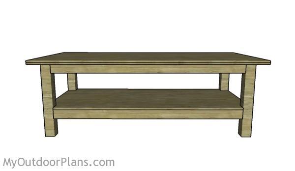4x8 workbench Plans