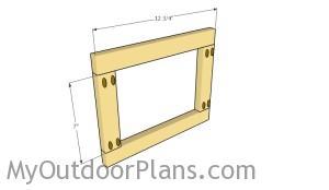 Assembling the doors