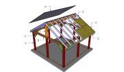 16×16 Pavilion Roof Plans