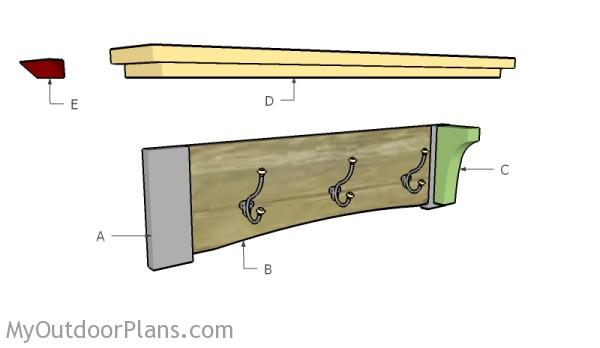 Building a coat rack