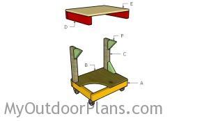 Building a drill press table