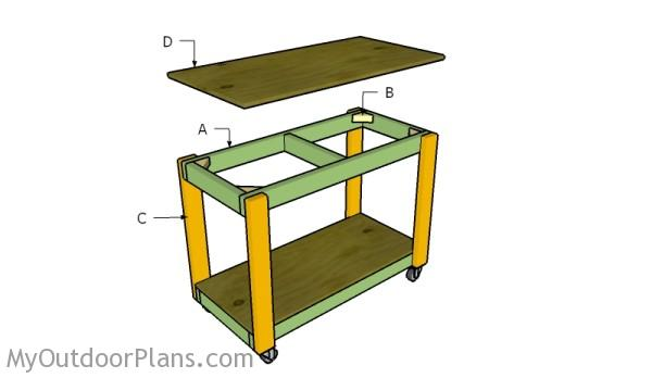 Building a portable workbench