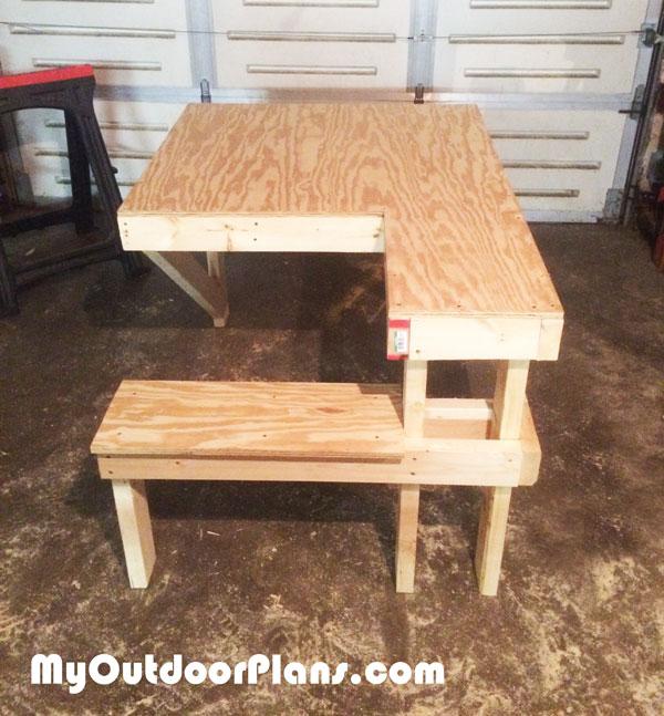 DIY Shooting Bench | MyOutdoorPlans | Free Woodworking ...