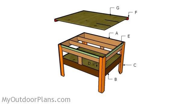 Tremendous Outfeed Table Plans Myoutdoorplans Free Woodworking Home Interior And Landscaping Oversignezvosmurscom