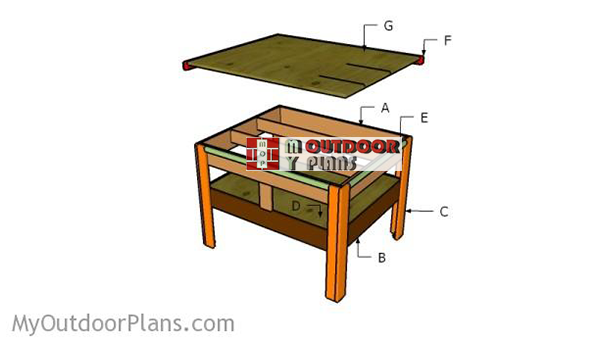 Building-outfeed-table