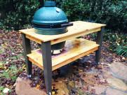 DIY Large Big Green Egg Table