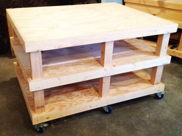 DIY Large Workbench