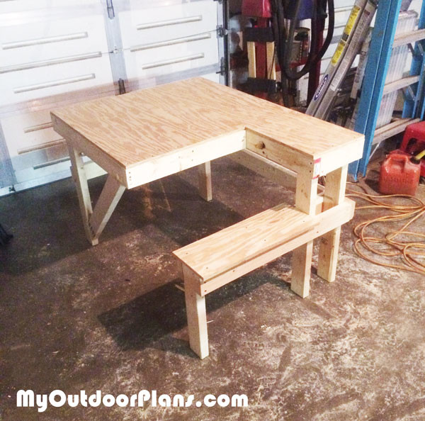 DIY Shooting Bench | MyOutdoorPlans | Free Woodworking ...