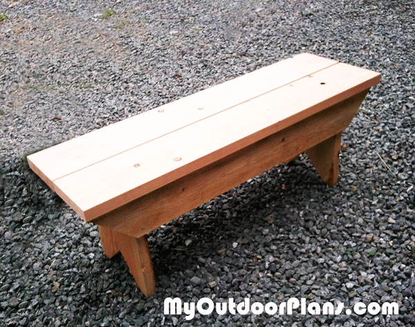 DIY Small Bench