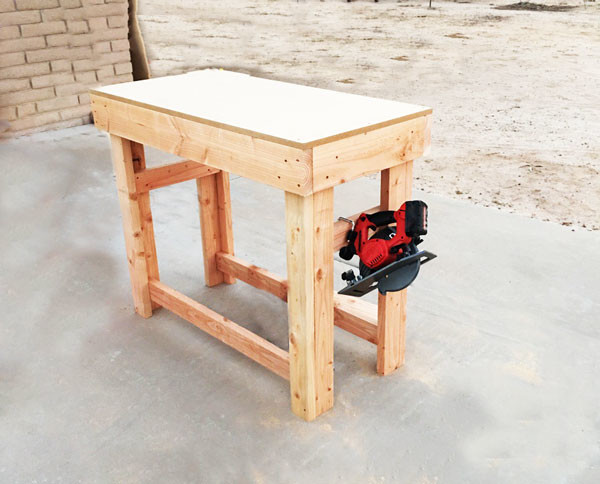 DIY Small Workbench | MyOutdoorPlans | Free Woodworking Plans and Projects, DIY Shed, Wooden ...