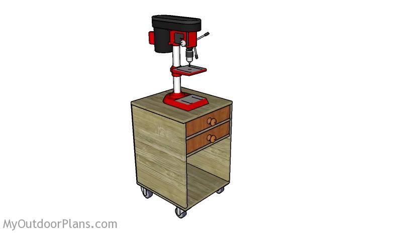 Drill Press Stand Plans