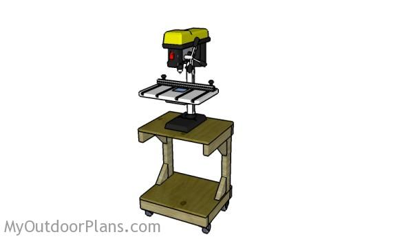 Drill Press Table Plans