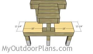 Fitting the seat slats